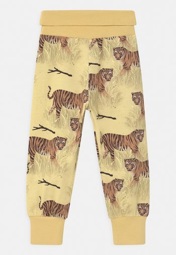 TIGERS UNISEX - Trousers - yellow
