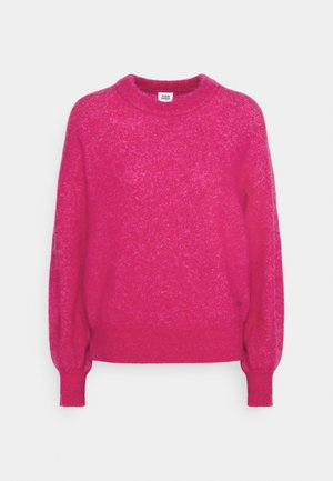 ZINA SWEATER - Jumper - vivid pink