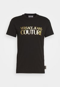 Versace Jeans Couture - MOUSE - T-shirt con stampa - black - 7