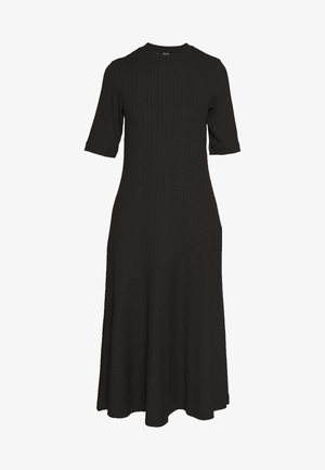 HALLEY DRESS - Žerzejové šaty - black