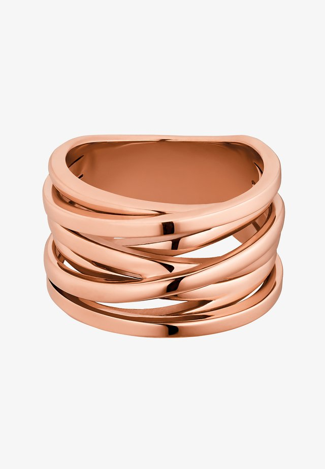 SERPI - Anello - rose goldfarbend