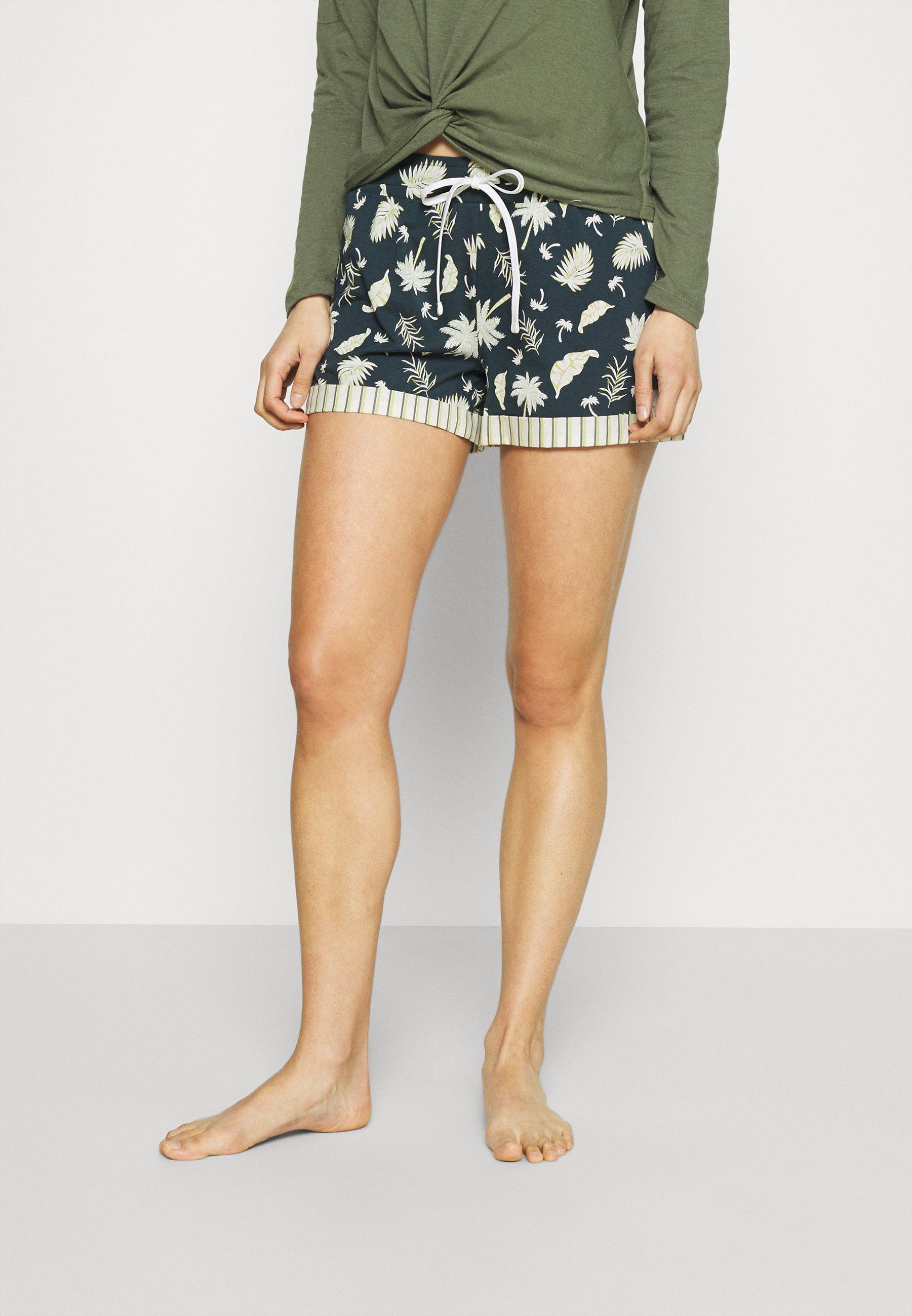 Women DAMEN SHORTS PALM TREE SLEEP - Pyjama bottoms