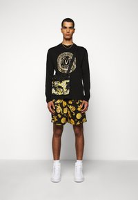 Versace Jeans Couture - LOGO - Long sleeved top - black/gold - 1