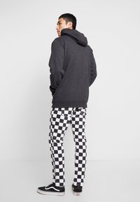 Vans - BASIC ZIP HOODIE - Felpa aperta - black heather - 2