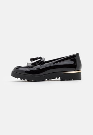 KOFFEE CHUNKY LOAFER - Slippers - black