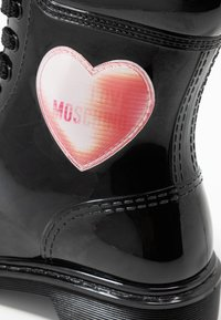Love Moschino - RAIN LOVE - Lace-up ankle boots - black - 2