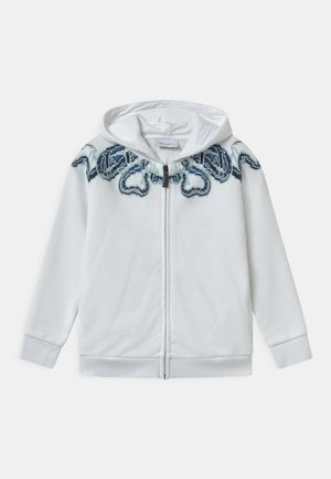 FULL ZIP SNAKE - veste en sweat zippée - bianco