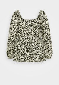 Dorothy Perkins Curve - CURVE DITSY SHIRRED SQUARE NECK LONG SLEEVE - Camicetta - multi - 1