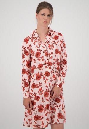 Shirt dress - pearl rose