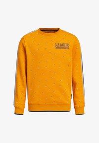 WE Fashion - MET DESSIN EN TAPEDETAIL - Sweatshirt - orange - 0