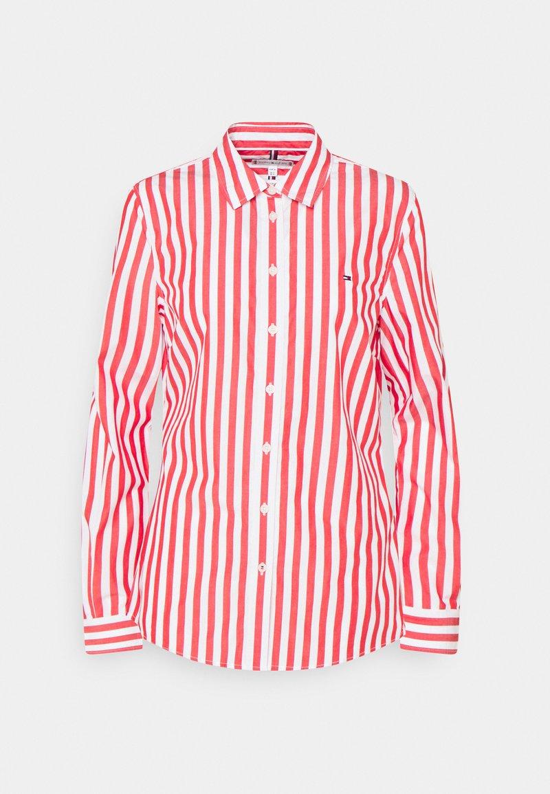 Tommy Hilfiger - REGULAR SHIRT - Button-down blouse - fireworks