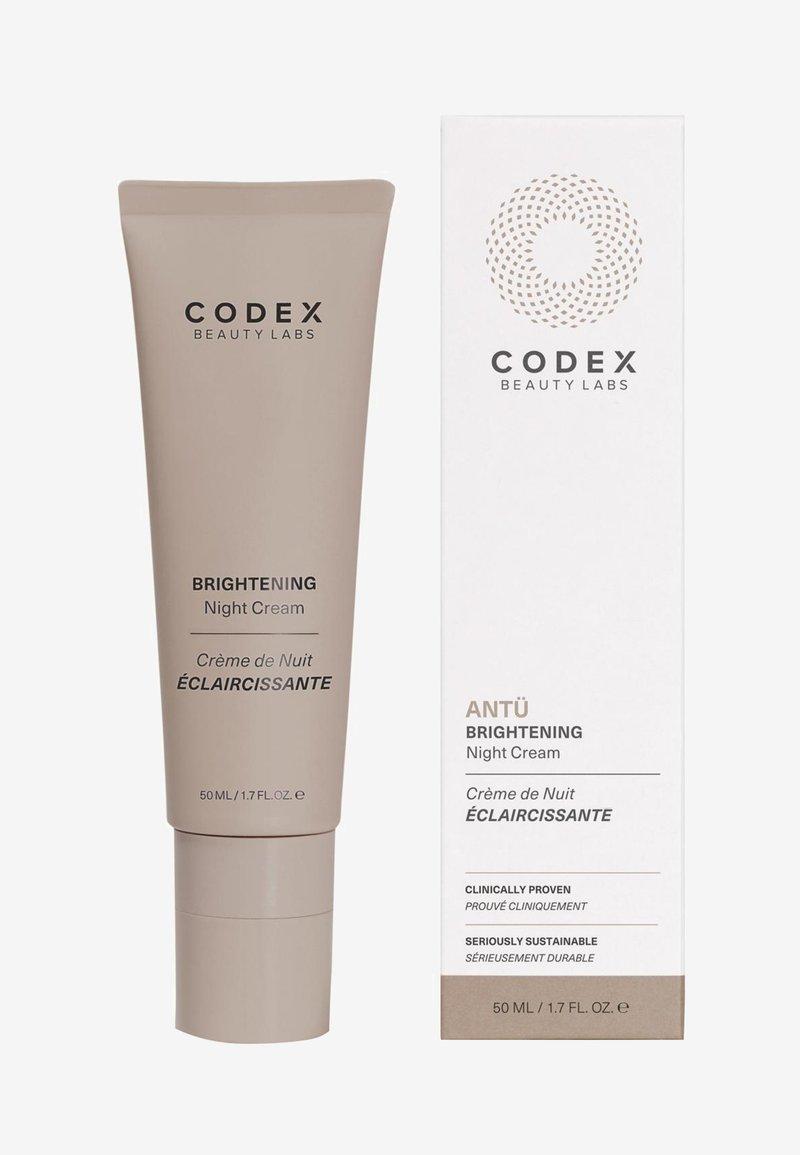 Codex Beauty - ANTU BRIGHTERNING NIGHT CREAM - Night care - -