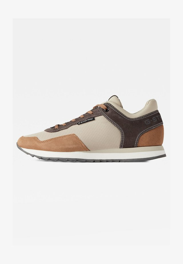CALOW - Sneakers basse - bamboo/tan/rover