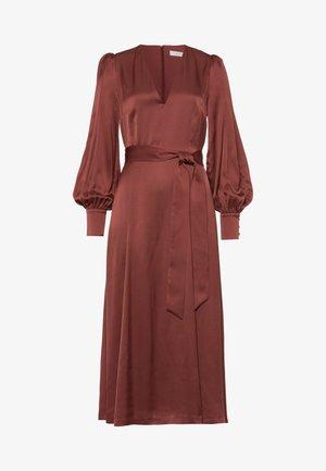 DENA ROSE - Korte jurk - brown