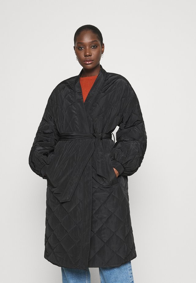 GWEN - Winter coat - anthracite black
