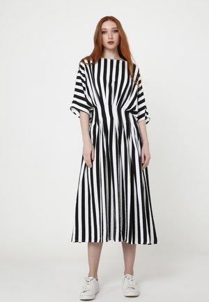 Day dress - schwarz, weiß