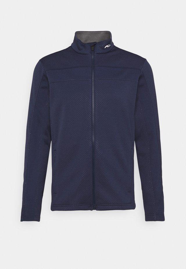 DUWIN MIDLAYER JACKET - Hardshell jacket - atlanta blue