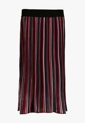 Maxi skirt - midnight red
