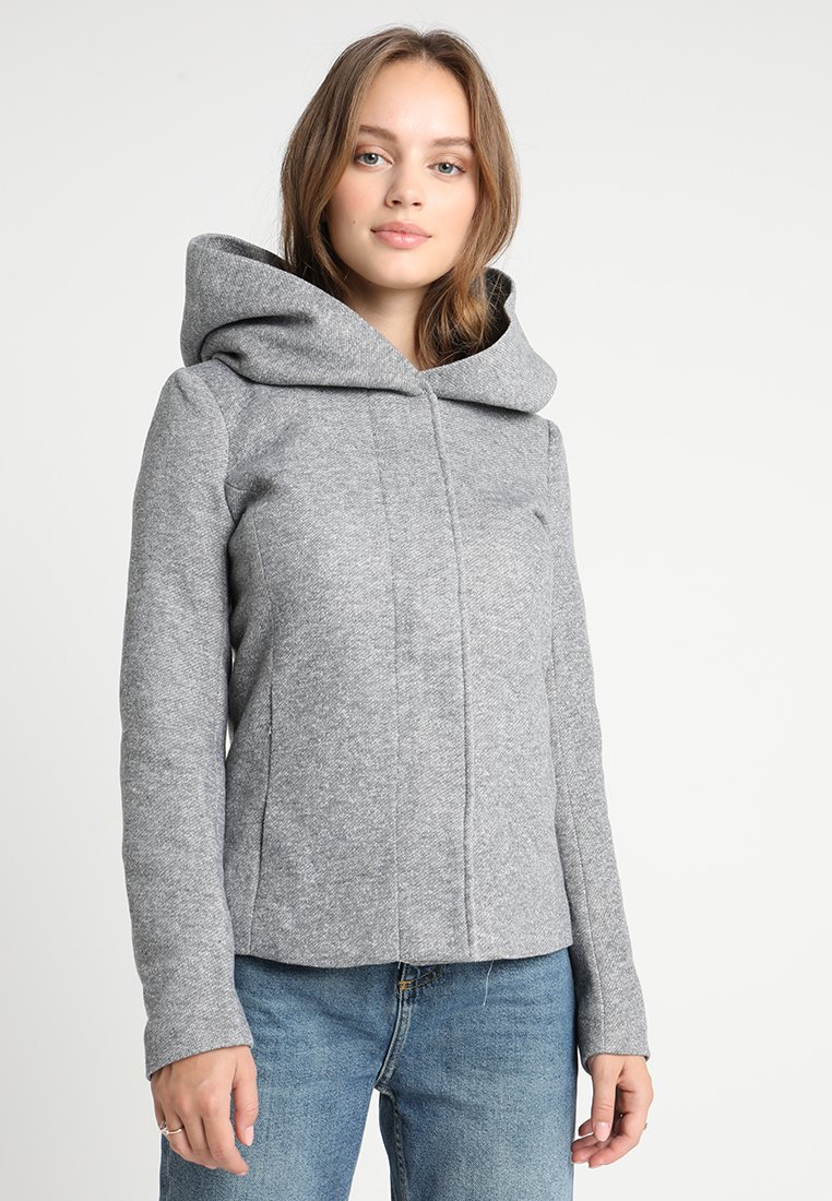 ONLY Petite - ONLSEDONA JACKET - Veste légère - light grey melange