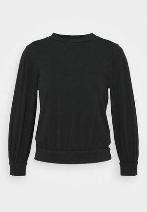 ONLPENJA  PUFF TOP  - Sweter - black
