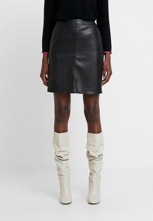 Mini skirt - true black