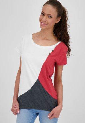 ZOEAK - Print T-shirt - white
