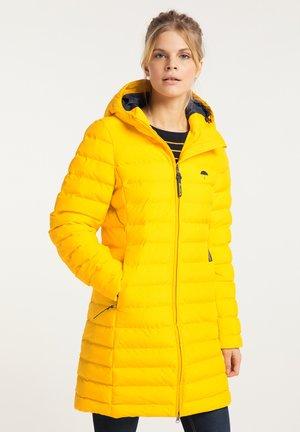Zimní kabát - senf