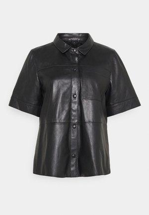 TAYLOR - Button-down blouse - black