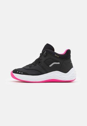 BOUNCE - Sneakers hoog - schwarz/rosa
