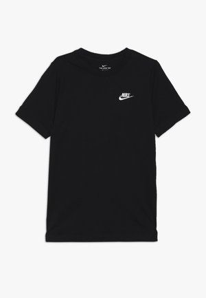 FUTURA  - Basic T-shirt - black/white