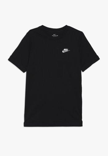FUTURA TEE  - Basic T-shirt - black/white