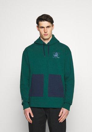 NHL ANAHEIM DUCKS DIFFUSION OVERHEAD HOODIE - Sweatshirt - green dream