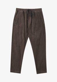 PULL&BEAR - Trousers - mottled brown - 6