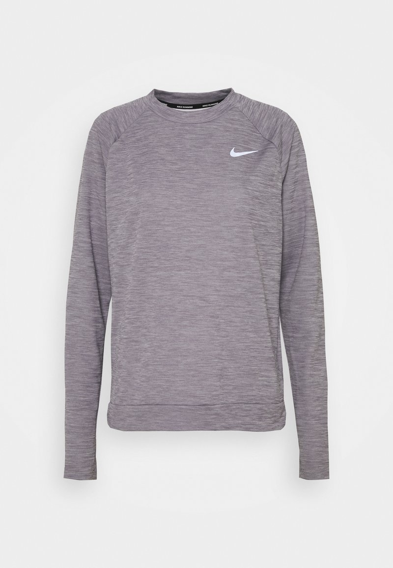 Nike Performance - PACER CREW - Funktionströja - amethyst smoke heather/reflective silver