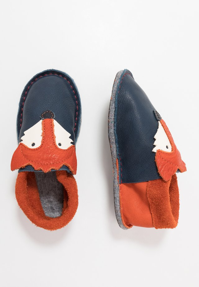 KIGA FUCHS - Slippers - tobago/orange