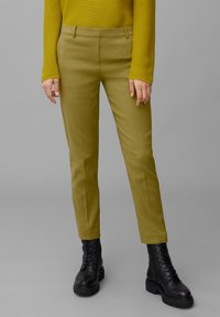 Marc O'Polo - TORUP - Trousers - olive green - 0