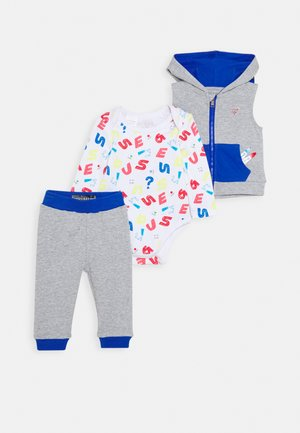 BABY SET - Veste sans manches - light heather grey