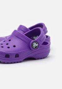 Crocs - CLASSIC - Pantolette flach - neon purple - 5