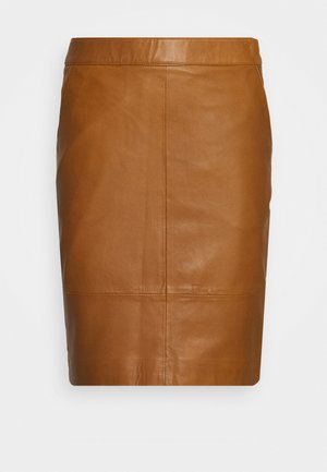 CHARGZ SKIRT - Pencil skirt - rubber