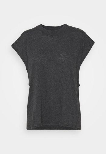 LIFESTYLE SLOUCHY MUSCLE - Basic T-shirt - black wash