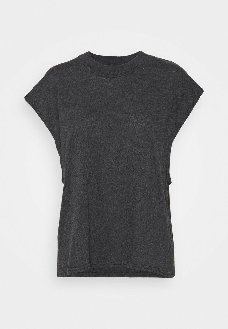 Cotton On Body - LIFESTYLE SLOUCHY MUSCLE - Basic T-shirt - black wash