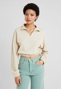 Gina Tricot - Sweatshirt - light beige - 0