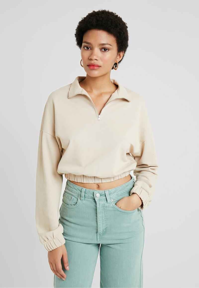 Gina Tricot - Sweatshirt - light beige