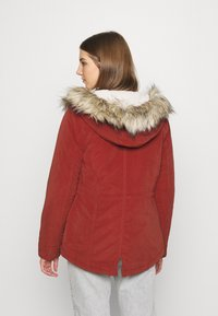 ONLY - ONLNEWLUCCA JACKET - Zimní kabát - fired brick - 2