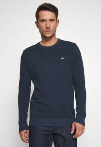 Tommy Jeans - LIGHTWEIGHT - Jumper - twilight navy - 0