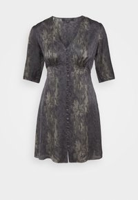 AllSaints - KOTA MASALA DRESS - Hverdagskjoler - forest green - 4