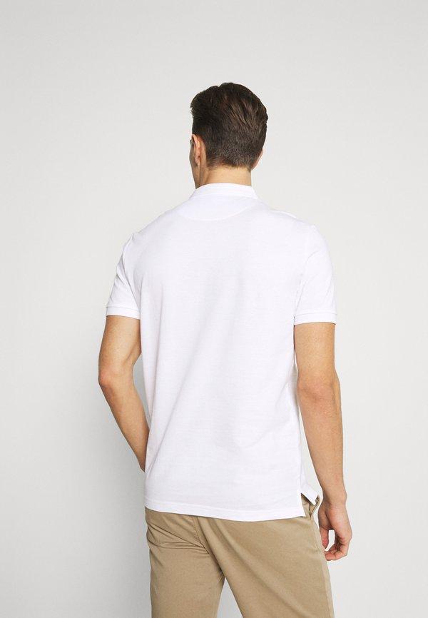 Pier One Koszulka polo - white/biały Odzież Męska FWRT