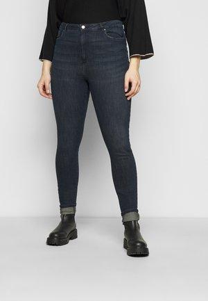 VMLOA - Jeans Skinny - dark blue denim/black wash