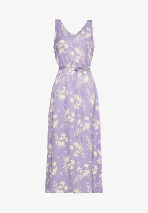 NAVAL DRESS - Denní šaty - lila/gelb