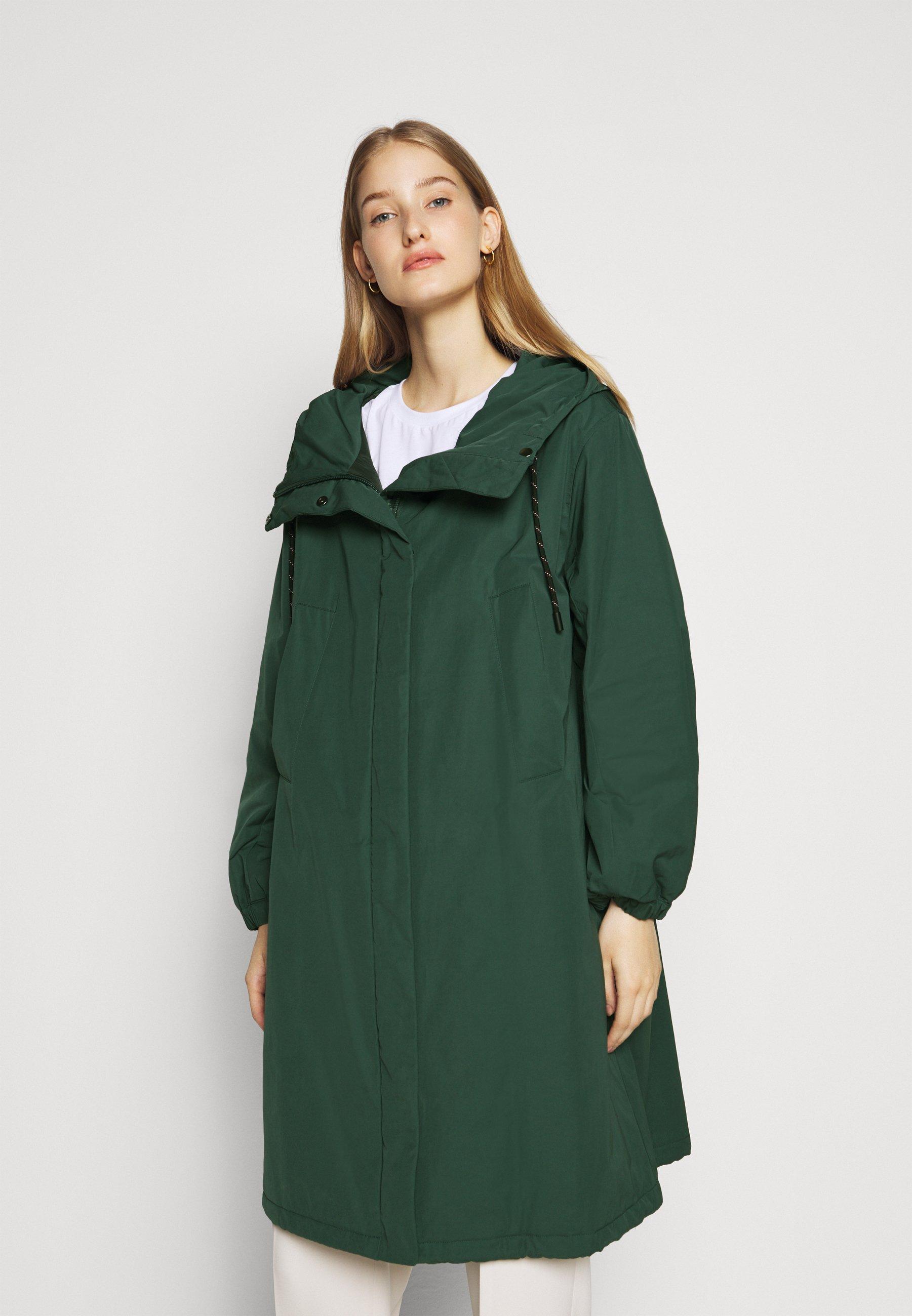 Super Women's Clothing WEEKEND MaxMara CLIMA Parka gruen QUWwT2Zvp